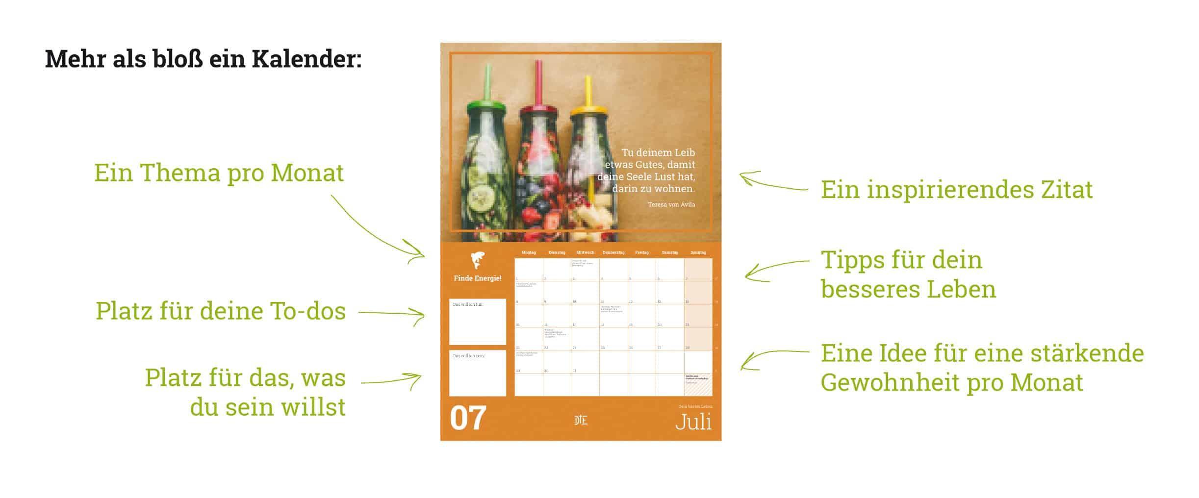 Mehr als bloß ein Kalender