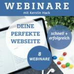 Deine perfekte Webseite in vier Wochen - Training mit Kerstin Hack