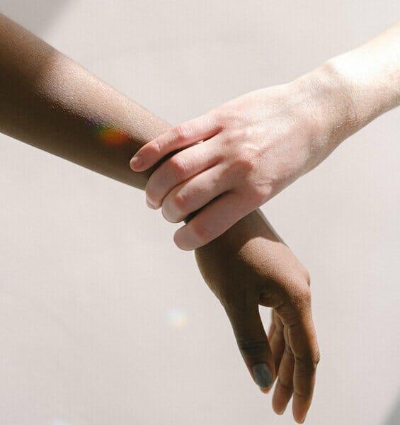 Eine helfende Hand
